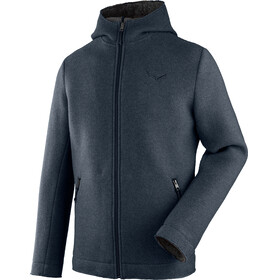 Salewa Sarner 2L Wool Full-Zip Hoody Men antracite2